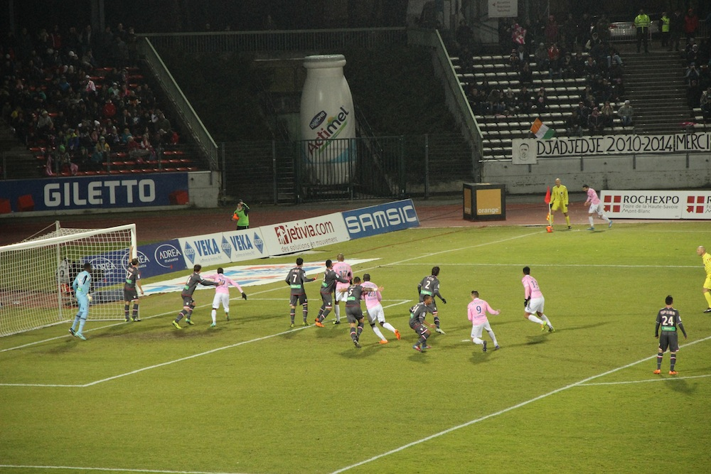 Match Ligue 1 ETG Ajaccio
